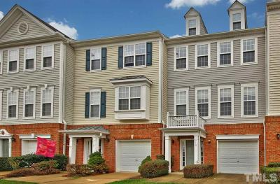 Morrisville Townhouse For Sale: 710 Sutter Gate Lane
