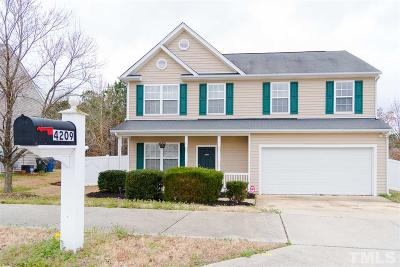 Raleigh Single Family Home For Sale: 4209 Bay Rum Lane