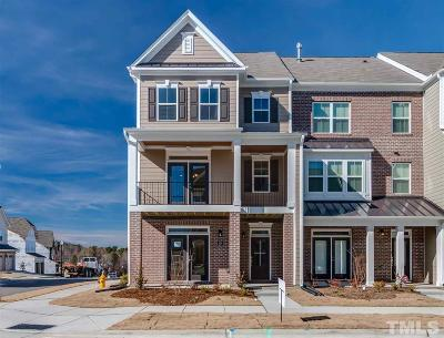 Wake Forest Townhouse For Sale: 424 Austin View Boulevard #303