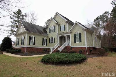 Zebulon Single Family Home For Sale: 1715 Whispering Meadows Drive