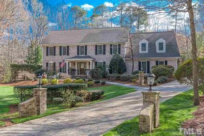 Raleigh Single Family Home For Sale: 8700 Kings Mill Place
