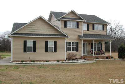 Harnett County Single Family Home For Sale: 846 Mann Road