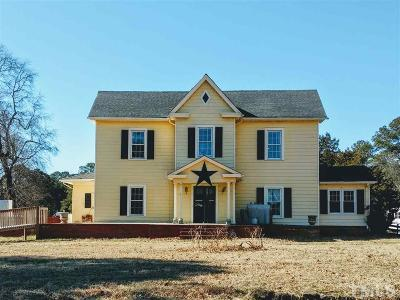 Louisburg Single Family Home Pending: 62 Dyking Road