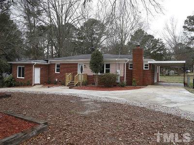 Zebulon Single Family Home For Sale: 911 Shepard School Road #& 913