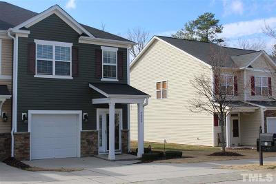 Wake County Townhouse For Sale: 2228 Stoney Spring Drive