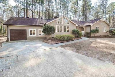 Raleigh Single Family Home For Sale: 12605 Sandwood Court