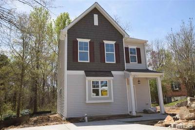Wake County Single Family Home For Sale: 323 W Jones Street