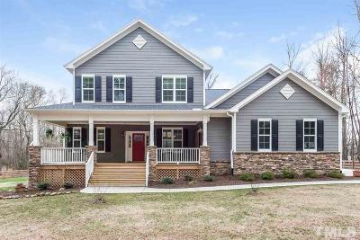 Granville County Single Family Home Contingent: 2010 Hester Road