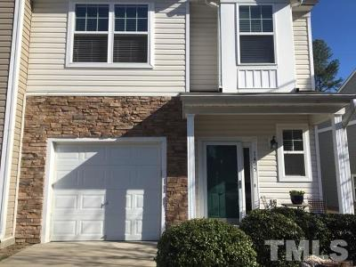 Raleigh NC Townhouse For Sale: $161,000