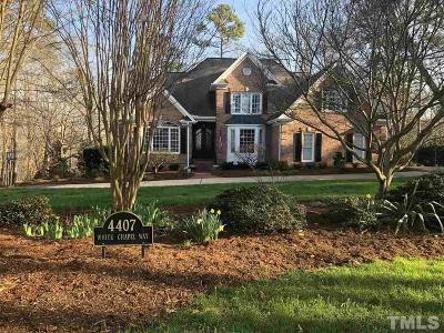 Raleigh Single Family Home For Sale: 4407 White Chapel Way