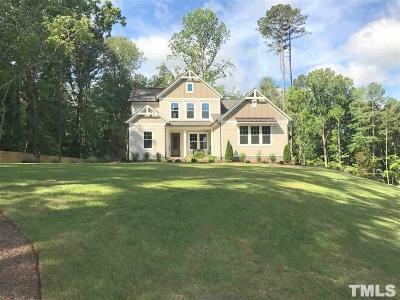 Hillsborough Single Family Home For Sale: 4113 Landing Trail