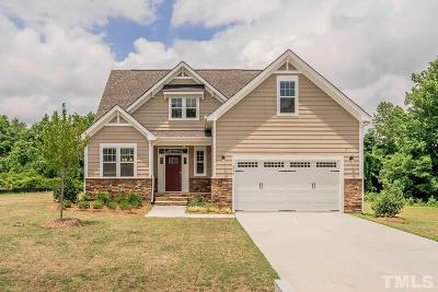 Fuquay Varina Single Family Home For Sale: 2236 Copper Pond Way