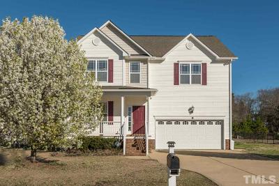 Angier Single Family Home For Sale: 134 Prosperity Court