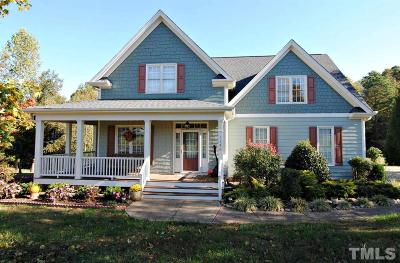 Granville County Single Family Home Contingent: 1160 Smith Creek Way