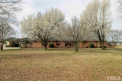 Sampson County Single Family Home Pending: 4947 Wrye Branch Road