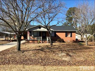 Sampson County Single Family Home Pending: 2551 Basstown Road