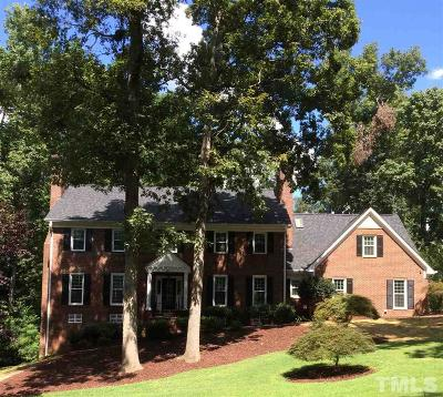 Cary Single Family Home For Sale: 405 Rutherglen Drive