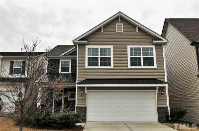 Morrisville Single Family Home Contingent: 206 Station Drive