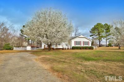 Angier Single Family Home Pending: 164 Willie Clifton Drive