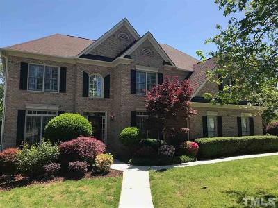 Cary Single Family Home For Sale: 100 Hedspeth Lane