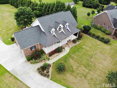 Zebulon Single Family Home For Sale: 10717 Staghound Trail