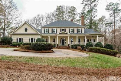 Wake Forest Single Family Home Contingent: 2004 Rolling Rock Road