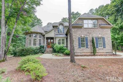 Wake Forest Single Family Home Contingent: 1141 Foothills Trail