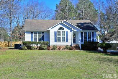 Knightdale Single Family Home Contingent: 5421 Covington Cross Drive