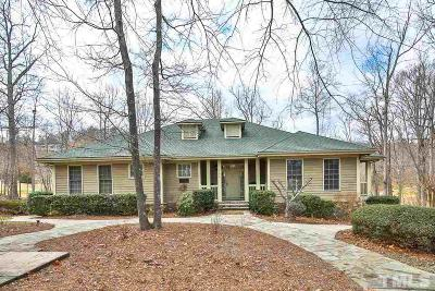 Chapel Hill Single Family Home For Sale: 11468 Club Drive