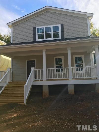 Wake County Single Family Home For Sale: 1506 E Lane Street