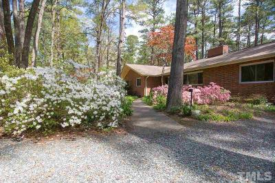 Durham Single Family Home For Sale: 2749 McDowell Road