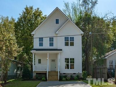 Wake County Single Family Home For Sale: 1514 E Lane Street