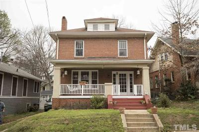 Single Family Home For Sale: 806 W South Street