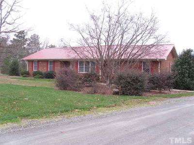 Siler City Single Family Home Contingent: 701 Poe Road