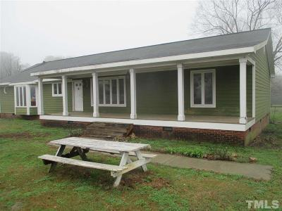 Moncure Single Family Home Pending: 266 Haywood Road