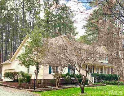 Chatham County Single Family Home For Sale: 405 Chatham Drive