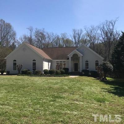 Chapel Hill Single Family Home For Sale: 313 Nottingham Drive