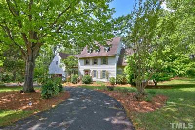 Chapel Hill Single Family Home For Sale: 102 Sturbridge Lane