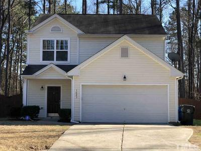 Raleigh Single Family Home Contingent: 1083 Heritage Manor Drive