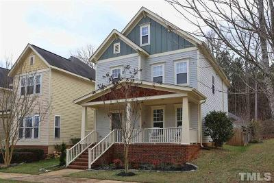 Pittsboro Single Family Home Contingent: 549 Millbrook Drive