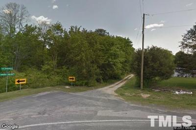 Wendell Residential Lots & Land Contingent: 6833 Knightdale Eagle Rock Road