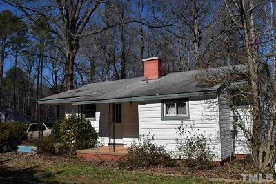 Durham Single Family Home For Sale: 3408 Cole Mill Road