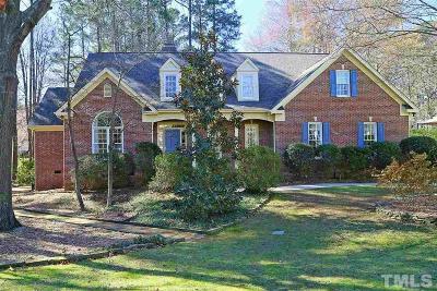 Raleigh Single Family Home For Sale: 2004 Gresham Lake Road