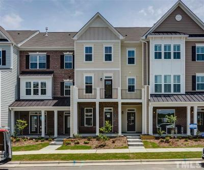 Wake Forest Townhouse For Sale: 533 Austin View Boulevard #315