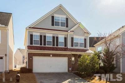 Morrisville Single Family Home Contingent: 113 Mainline Station Drive