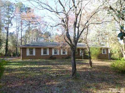 Raleigh Single Family Home Pending: 11605 Durant Road