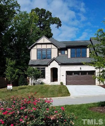 Cary Townhouse For Sale: 1344 Queensferry Road