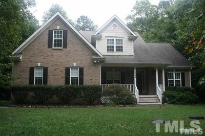 Pittsboro Single Family Home For Sale: 727 Jamestown Road