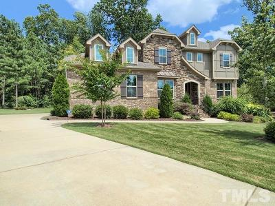 The Legacy At Jordan Lake Single Family Home For Sale: 108 Bridgewater Court