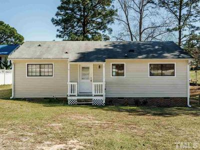Harnett County Single Family Home For Sale: 161 Peacock Road
